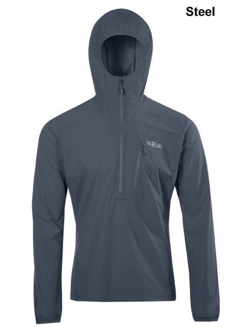 Rab Mens Borealis Pull-On - Lightweight Breathable Windshell